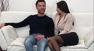 Sofia Cucci and the hot pornography casting
