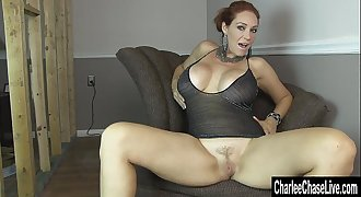Horny MILF Charlee Chase&rsquo_s Pussy Needs Pleasing